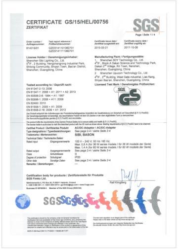 SGS 认证企业